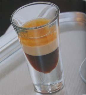 1 часть кремового ликера (например, Бэйлис). коктейли алкогольные.
